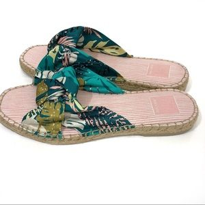 Dolce Vita Shoes - Dolce Vita espadrilles flats tropical print bow